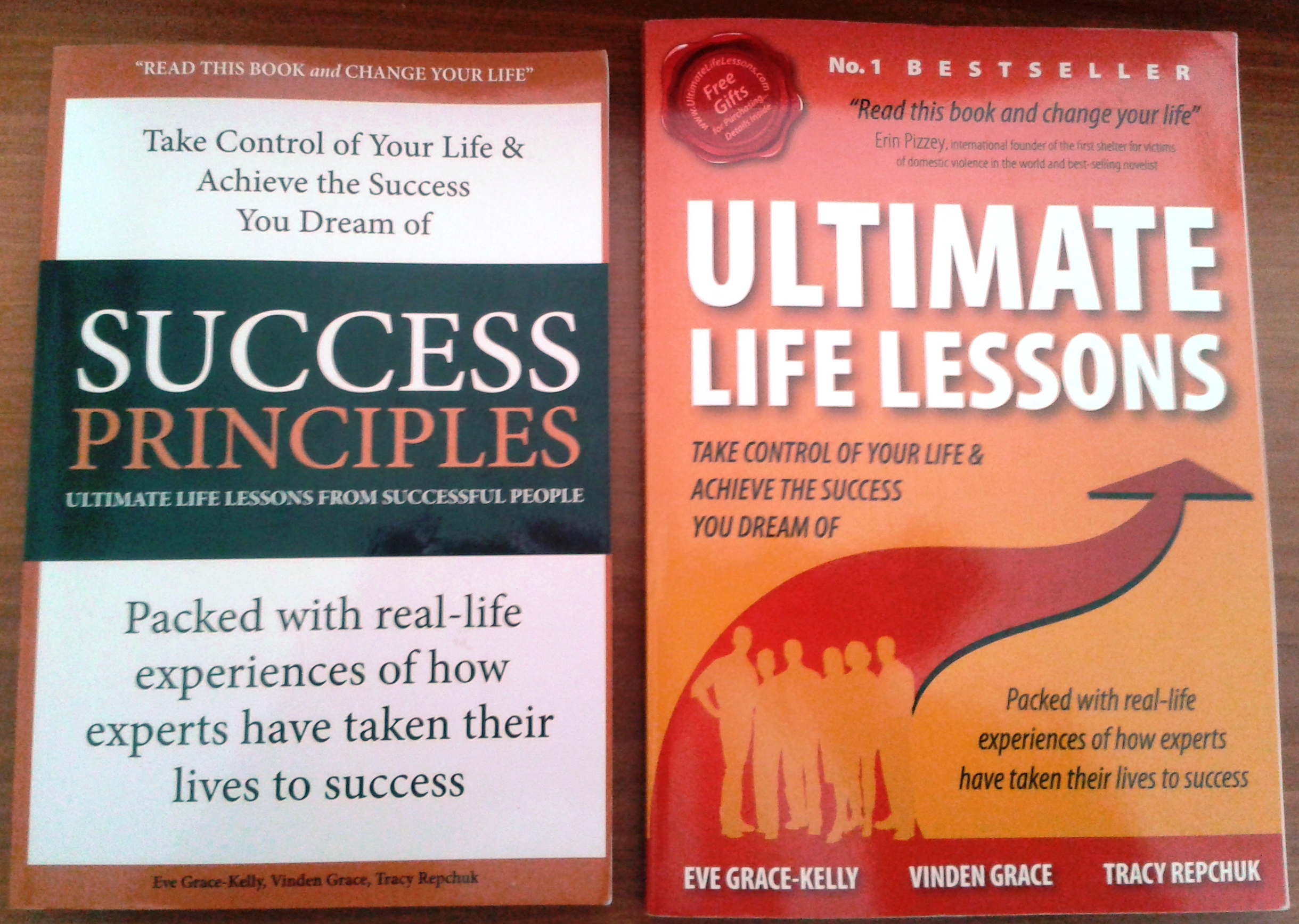 """Our book """"Ultimate Life Lessons"""" or """"Success Principles"""" – Amazon"""